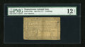 Colonial Notes:Pennsylvania, Pennsylvania April 10, 1777 6s PMG Fine 12 Net....