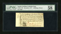 Colonial Notes:North Carolina, North Carolina December, 1771 2s/6d PMG Choice About Unc 58....