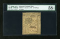 Colonial Notes:Delaware, Delaware January 1, 1776 10s PMG Choice About Unc 58 EPQ....