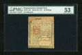 Colonial Notes:Pennsylvania, Pennsylvania March 20, 1771 20s PMG About Uncirculated 53....