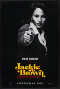 "Movie Posters:Crime, Jackie Brown (Miramax, 1997). One Sheet (27"" X 40"") SS Pam Grier Style Advance. Crime...."