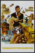 "Movie Posters:James Bond, The Man With the Golden Gun (United Artists, 1974). AutographedPromotional Poster (21.75"" X 33.5"") DS. James Bond...."