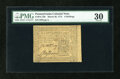 Colonial Notes:Pennsylvania, Pennsylvania March 20, 1773 6s PMG Very Fine 30....