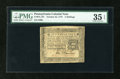 Colonial Notes:Pennsylvania, Pennsylvania October 25, 1775 2s PMG Choice Very Fine 35 EPQ....