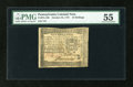 Colonial Notes:Pennsylvania, Pennsylvania October 25, 1775 10s PMG About Uncirculated 55....