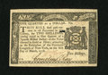 Colonial Notes:New York, New York March 5, 1776 $1/4 Choice New....