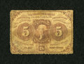 Fractional Currency:First Issue, Fr. 1229 5c First Issue Fine....