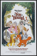 "Movie Posters:Animated, The Fox and the Hound (Buena Vista, 1981). One Sheet (27"" X 41"").Animated...."