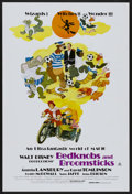 "Movie Posters:Animated, Bedknobs and Broomsticks (Buena Vista, R-1979). Australian OneSheet (27"" X 40""). Animated...."