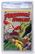 "Golden Age (1938-1955):Science Fiction, Forbidden Worlds #3 Davis Crippen (""D"" Copy) pedigree (ACG, 1951)CGC VF 8.0 Off-white to white pages...."
