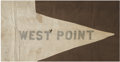 "Military & Patriotic:Civil War, Ultra Rare and Historic Signal Corps ""Battle Flag"" from the 1862 Peninsular Campaign. Items pertaining to the Signal Corps i..."