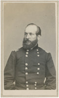 Military & Patriotic:Civil War, Very Scarce CDV Portrait of Maj. Gen. James A Garfield by C. D. Fredericks of New York....