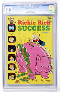 Richie Rich Success Stories #22 File Copy (Harvey, 1968) CGC NM/MT 9.8 Off-white to white pages