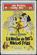 """Movie Posters:Animated, 101 Dalmatians (Rank, 1961). Argentinean Poster (29"""" X 43"""").Animated...."""