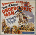 """Movie Posters:Western, Undercover Man (United Artists, 1942). Six Sheet (81"""" X 81""""). Western...."""