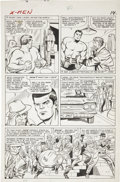 Original Comic Art:Panel Pages, Jack Kirby and Chic Stone X-Men #8 page 10 Original Art(Marvel, 1964)....