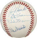 Autographs:Baseballs, 3,000 Hit Club Multi-Signed Baseball....