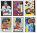 "Autographs:Sports Cards, 1990's ""1952-1956"" Topps Archives Brooklyn Dodgers Signed Cards Collection (25). ..."