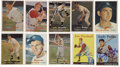 Autographs:Sports Cards, 1957-1958 Topps Baseball Signed Cards Collection (111). ...