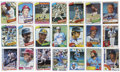 Autographs:Sports Cards, 1980-1984 Topps Baseball Signed Cards Collection (417). ...