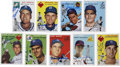 """Autographs:Sports Cards, 1995 """"1954"""" Topps Archives Signed Cards Collection (112). ..."""