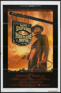 "Movie Posters:Western, High Plains Drifter (Universal, 1973). One Sheet (27"" X 41""). Western...."