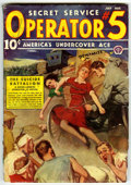 Pulps:Hero, Operator #5 - July 1938 (Popular, 1938) Condition: VG....