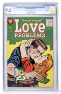 Golden Age (1938-1955):Romance, True Love Problems and Advice Illustrated #34 File Copy (Harvey,1955) CGC NM- 9.2 Cream to off-white pages....