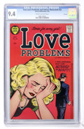 Golden Age (1938-1955):Romance, True Love Problems and Advice Illustrated #33 File Copy (Harvey,1955) CGC NM 9.4 Cream to off-white pages....