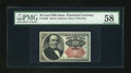 Fractional Currency:Fifth Issue, Fr. 1309 25c Fifth Issue PMG Choice About Unc 58....