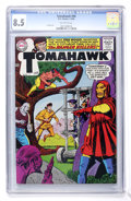 Silver Age (1956-1969):Adventure, Tomahawk #96 (DC, 1965) CGC VF+ 8.5 Off-white pages....