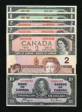 Canadian Currency: , $20 Face Canadian.. ... (Total: 7 notes)