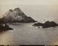 Photography :Albumen , ISAIAH WEST TABER (American, 1830-1912). Seal Rock, Pacific Ocean, 1870-1880. Albumen, 1870-1880. 7-1/2 x 9-1/2 inches (...