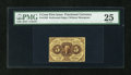 Fractional Currency:First Issue, Fr. 1229 5c First Issue PMG Very Fine 25....