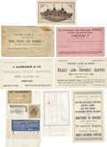 General Historic Events:World Fairs, World's Columbian Exposition: Lot of Fifteen Railway Items.... (Total: 15 Items)