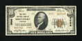 National Bank Notes:Louisiana, Shreveport, LA - $10 1929 Ty. 2 The First NB Ch. # 3595. ...