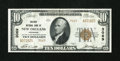 National Bank Notes:Louisiana, New Orleans, LA - $10 1929 Ty. 2 The Whitney NB Ch. # 3069. ...