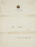 Autographs:U.S. Presidents, Franklin D. Roosevelt: Typed Letter Signed with HolographicCorrections as New York Governor Regarding Al Smith's Defeat.. -...