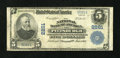 National Bank Notes:Pennsylvania, Pittsburgh, PA - $5 1902 Plain Back Fr. 606 The NB of America Ch. # 2261. ...