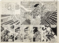 Original Comic Art:Panel Pages, Frank Miller and Tom Palmer Amazing Spider-Man Annual #14pages 20 and 21 Original Art (Marvel, 1980)....