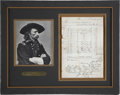 "Autographs:Military Figures, George A. Custer Autograph Endorsement Signed ""Gen G. A. Custer"" on U.S. Army Document..."