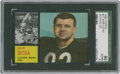 Football Cards:Singles (1960-1969), 1962 Topps Mike Ditka #17 SGC 80 EX/NM 6....