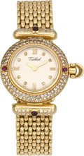 "Timepieces:Wristwatch, Tabbah Lady's ""Beret"" Ruby & Diamond Watch, circa 1990. ..."