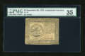 Colonial Notes:Continental Congress Issues, Continental Currency September 26, 1778 $5 PMG Choice Very Fine35....