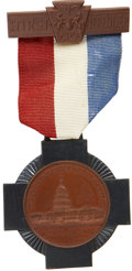 """Military & Patriotic:Civil War, Scarce, Mint Condition Pennsylvania """"First Defender's"""" Medal, Issued Shortly after the War to the First Five Companies who Res..."""