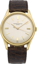 Timepieces:Wristwatch, Vacheron Constantin Men's Gold Center Seconds Wristwatch, circa 1960. ...