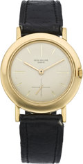 Timepieces:Wristwatch, Patek Philippe Ref. 2595/1 Men's Gold Wristwatch, circa 1961. ...