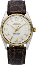 Timepieces:Wristwatch, Rolex Ref. 6565 Early Steel & Gold Oyster Perpetual, circa1940. ...