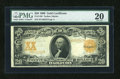 Large Size:Gold Certificates, Fr. 1186 $20 1906 Gold Certificate PMG Very Fine 20....