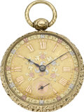 Timepieces:Pocket (pre 1900) , Robert Roskell Gold Rack Lever Fusee, circa 1830. ...